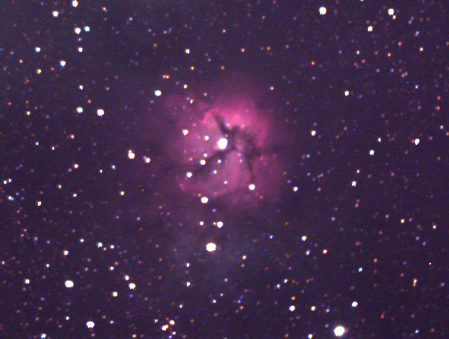 Bennet's Astronomical Gallery - M20 Trifid Nebula